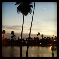 Sunset at UT Brownsville - Brownsville, Texas