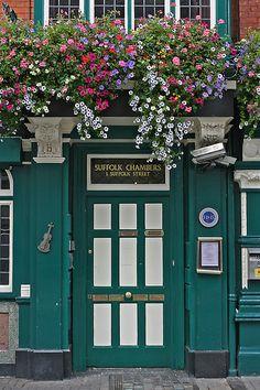 Dublin: Irish door
