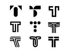 54 Ideas sport logo design ideas products for 2019 - Sport Tribal Logo, Geometric Logo, Monogram Logo, Monogram Design, Tt Logo, Cafe Logo, Logo Sketch, Logo Branding, Transportation Logo