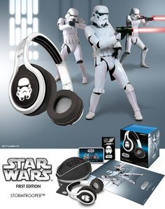Headphones | SMS Audio - Studio Mastered Sound, Wherever you go - Star Wars | STREET by 50 On-Ear Wired Headphones