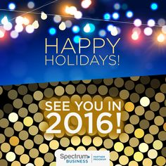2016 - We'll see you there! #HappyNewYear