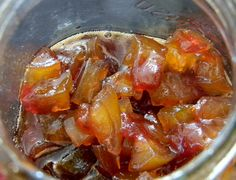 Candied Watermelon Rind by jazzijava, via Flickr, PLUS Links to a bunch of preserved-food recipes: great-sounding jams, condiments, and preserved vegetables