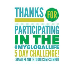 You rock! Now join us for the Living Your Ideal Global Life Summit! GlobalLifeSummit.com #MyGlobalLife