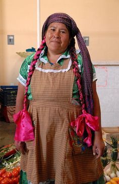 I searched for braids and found a Zapotec woman! I could spot them anywhere!!!! haha