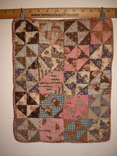 antique doll quilt | Antique Doll Quilts on Display
