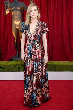 Brie Larson In Gucci Gala Dresses Red Carpet Nice Couture
