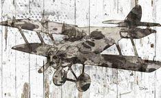 ON SALE Canvas Print Airplane Landing. Canvas Print by irenaorlov Airplane Landing, Original Art, Original Paintings, Still Life Art, Black And White Abstract, Abstract Wall Art, Home Interior, Canvas Art Prints, Fine Art