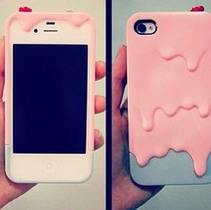"""Ewww, what's that pink goo on your phone??""  ""Oh it's just my case""  *everyone looks at your phone to make sure*"