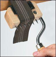 Gooseneck Webbing Stretcher - Woodworking