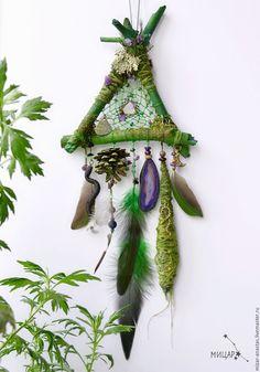 """Купить Ловец снов """"Ведьмин лес"""" - ловец снов, лесной ловец снов"""