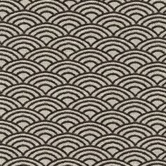 Dunhill Charcoal Contemporary Multiple Reverse Scale Design Upholstery Fabric