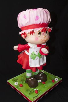 Strawberry Shortcake - Cake by Andres Enciso