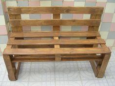 sillon de pallets Pallet Furniture, Outdoor Furniture, Outdoor Decor, Old Wood, Wood Projects, Pergola, Pallet Ideas, Living Room, House