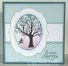 ** Kathy's Favourite ** CT0712 - Happiness Swing by mum of 2+2 - Cards and Paper Crafts at Splitcoaststampers