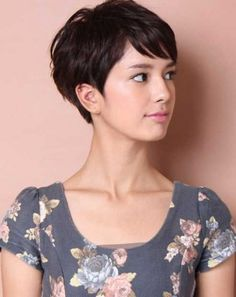 Asian Inverted Pixie Crop Haircuts 2017