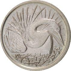 Singapore, 5 Cents, 1982, Singapore Mint, AU(55-58), KM:2a
