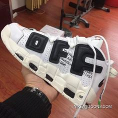 c19259680d Off White X Nike Air More Uptempo Latest