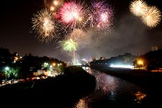 Diwali in India is huge! And the firework displays are amongst the most impressive. You can find more about Diwali celebrations here: http://www.essentialtravel.co.uk/magazine/feature/new-year-all-year.asp#religious