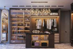 When you are thinking about redoing your home, one aspect that you should carefully consider redoing is the closet. The problem is you may not know the benefits of using the dream closets designs to Walk In Closet Design, Wardrobe Design, Closet Designs, Wardrobe Room, Closet Bedroom, Closet Space, Master Closet, Master Bedroom, Closet Mirror