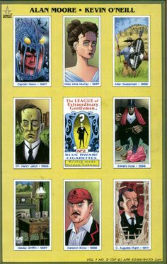league of extraordinary gentlemen comics | The League of Extraordinary Gentlemen #2 comic book from America's ...