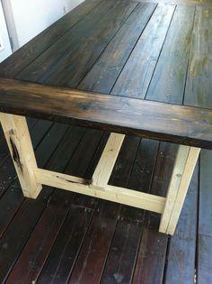 My New Farmhouse Dining Table