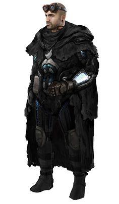 Myca Anton wearing Polumitic Cursor Armor