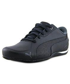 8e46bb4e7578 PUMA Puma Drift Cat 5 Men Round Toe Leather Black Sneakers .  puma