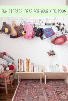 Find storage for your kids rooms!