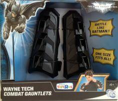 Batman The Dark Knight Rises Wayne Tech Combat Gauntlets Mattel.