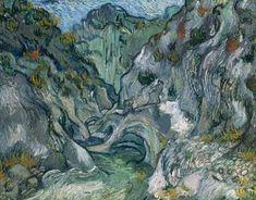 A ravina, 1889 Vincent Van Gogh (Holanda, 1853-1890 ) óleo sobre tela -
