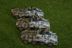 German 234 heavy recon for Flames of War