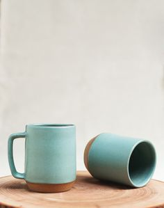 Mazama ceramic mugs on @A Continuous Lean