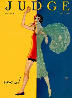 'Judge' Magazine Cover by John Holmgren, 1926