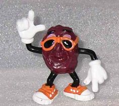 California Raisins figurines