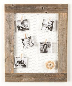 Love this Natural Chicken Wire Photo Display on #zulily! #zulilyfinds