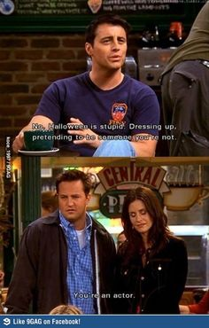Friends - Joey, Chandler & Monica