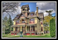 Allyn Mansion - 1885 Victorian Home - Wisconsin