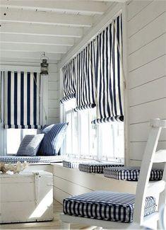 Coastal Style: Nautical Stripes & Decor