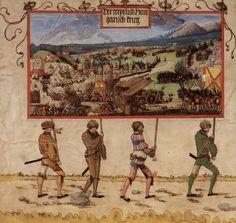 1513-1515    Albrecht Altdorfer  - The Triumph of Maximillian.  Provenance: Germany  Collection: Grafische Sammlung der Albertina