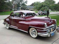 Chrysler Windsor 1947 - 40s & 50s American Cars.