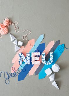 NEU by Carolin Wanitzek, via Behance