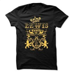 LEWIS Family Strong Proud  T Shirt, Hoodie, Sweatshirts - design your own shirt #Tshirt #style