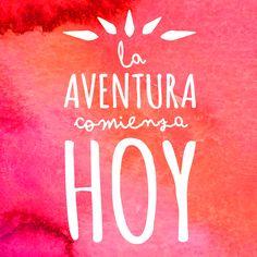 Cada aventura comienza HOY—SP