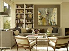 Cozy family room.