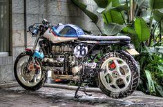 BMW K100 Cafe Racer   Andres Saenz   Flickr