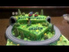 Thomas the Train Birthday Cake - YouTube
