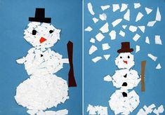 Preschool Crafts, Crafts For Kids, Collage, Child Development, Winter, Disney Characters, Fictional Characters, Advent Calendar, Techno