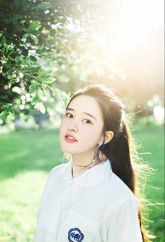⭐@Minmiogii⭐ Beautiful Chinese Girl, Beautiful Girl Image, Cute Girls, Cool Girl, Ulzzang Korean Girl, Wild Girl, Asia Girl, Interesting Faces, Kawaii Girl