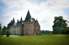 Le parc du Château de Bonnefontaine à Antrain.  (stenphoto.fr)