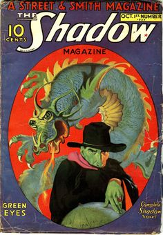 The Shadow Magazine, Oct. 1st, 1932.